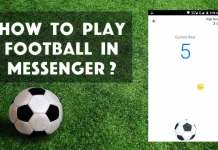 Facebook Messenger Football Game Hack