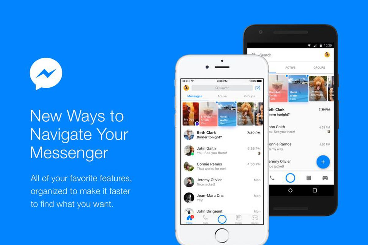 Facebook Messenger For Android and Apple iOS – Facebook