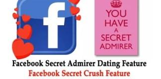 Facebook SECRET Crush App