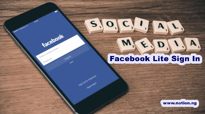Lite facebook in www com sign Facebook Lite