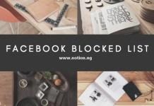 See My Blocked List On Facebook
