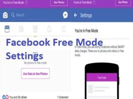 Facebook Free Mode Link
