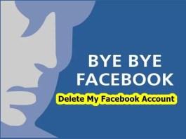 Delete My Facebook Account
