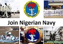 Navy Recruitment form 2021