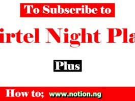 Code for Airtel Night Plan