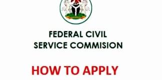 Federal Civil Service Recruitment Form