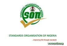 Standard Organisation of Nigeria Recruitment 2021