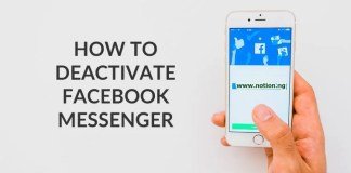 Deactivate Facebook Messenger On Android And IOS