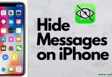 How To Hide Messages On IPhone