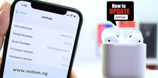 How To Update AirPods