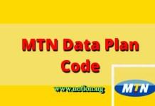 MTN Data Plan Code