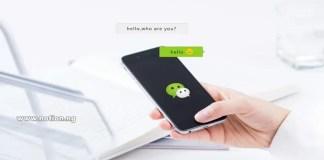 Login online wechat WeChat Web