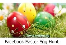Facebook Easter Egg Hunt