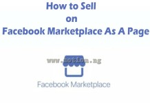 Sell On Facebook Marketplace As A Page