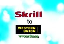 Skrill to Western Union
