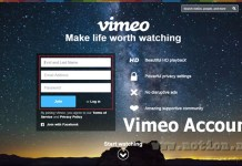 Vimeo Account Sign Up