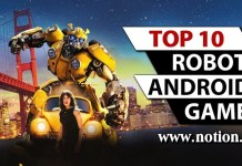 Best Android Robot Games