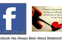 Facebook Has Always Been About Relationships