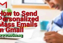 Mass Email In Gmail