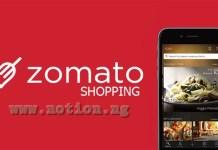 Zomato Shopping