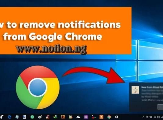 Google Chrome Notifications