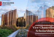 Macquarie Vice-Chancellor's International Scholarships