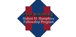 Hubert Humphrey Fellowships In USA