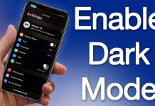 Activate Dark Mode On iPhone