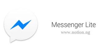 Messenger Lite Mobile App