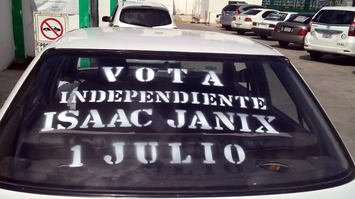 Issac Janix imparable! taxistas se suman a su proyecto Independiente