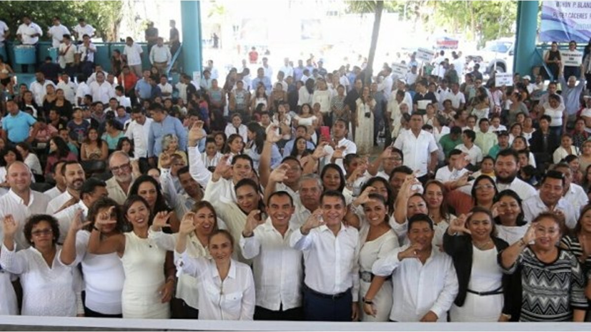 Eligen a Roger Cáceres como dirigente del partido Confianza por Quintana Roo