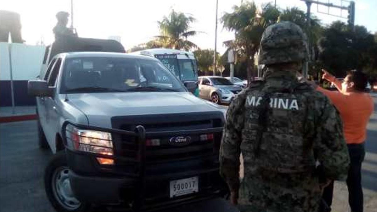 SEMAR y la PolicÍa Estatal toman el control de Seguridad Pública de Cancún