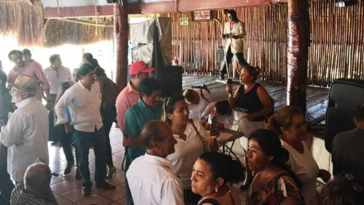 Se resquebraja MORENA en Quintana Roo por imposición de candidaturas externas.