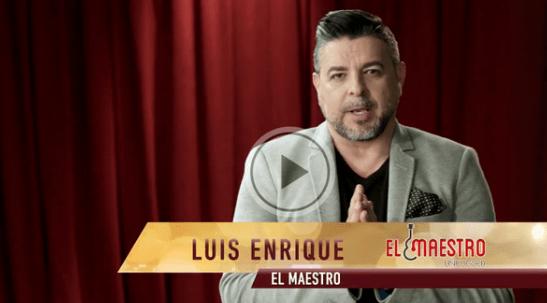 Luis Enrique - El Maestro Unplugged Video Still