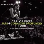 Carlos Vives #1 en ventas en EE.UU. y Colombia con el CD+DVD, Más + Corazón Profundo Tour