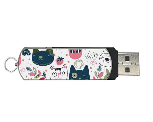 USB flashdisk s vlastním potiskem