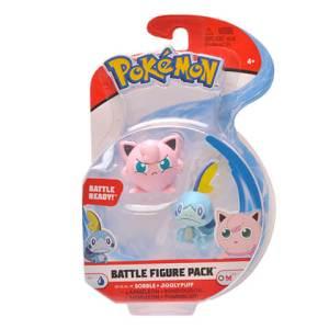 Pokémon Battle Figure Pack Sobble a Jigglypuff 4 cm