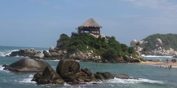 Parque Tayrona, Colombia: La montaña y el mar