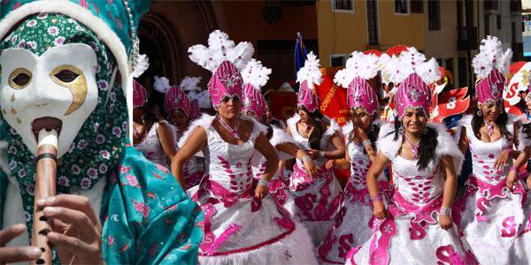 Carnavales en Perú y fiestas de febrero