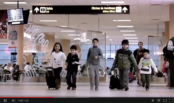 Emotivo video de Lima Airport Partners por Fiestas Patrias en Perú