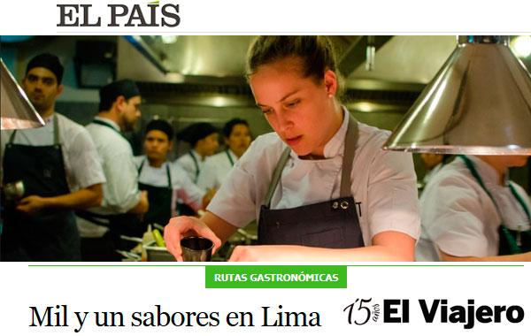 El País: Mil y un sabores en Lima