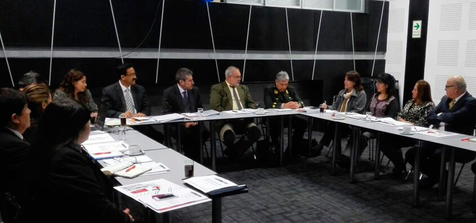 Red de Protección al Turista realizó sesión de trabajo con participación del Viceministro de Turismo