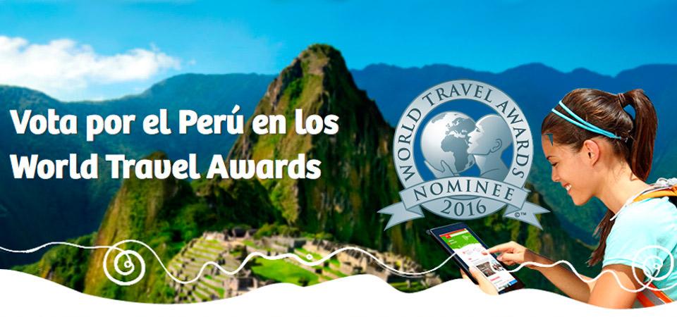 Estos son todos los nominados por Perú a los World Travel Awards 2016