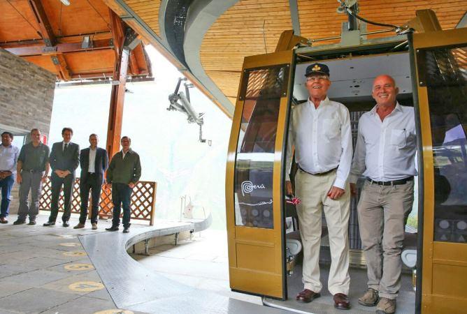 Telecabinas llevarán este año más de 75 mil visitantes a complejo arqueológico de Kuélap