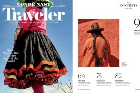 Valentina Mirma, impresiona en la portada de Condé Nast Traveler