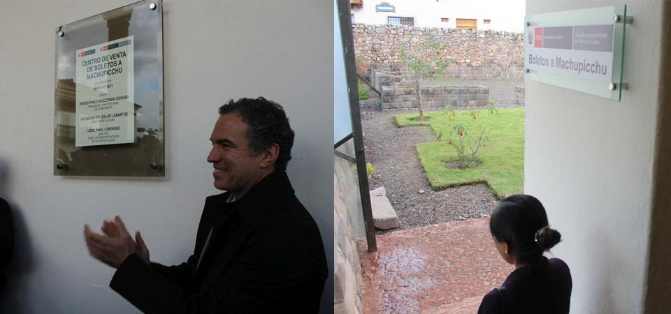 Inauguran nueva boletería para ingreso a Machu Picchu en Cusco