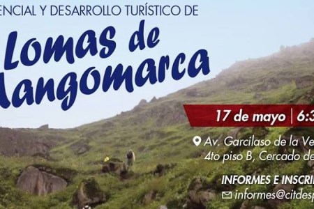 Presentan estudio sobre potencial turístico de las Lomas de Mangomarca