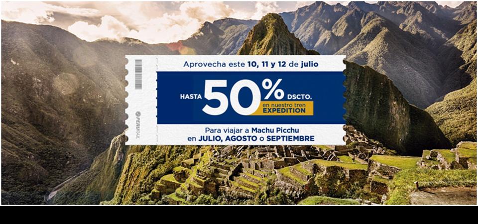 Aprovecha los Cyber Days de julio y viaja en Expedition hasta con 50% de descuento