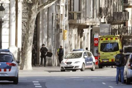 Atentado en La Rambla, la zona turística de Barcelona
