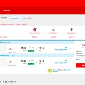 Atrápalo.pe es la primera agencia de viajes online en contar con pasajes para Viva Air